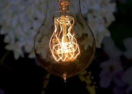 led lamp met gloeidraad