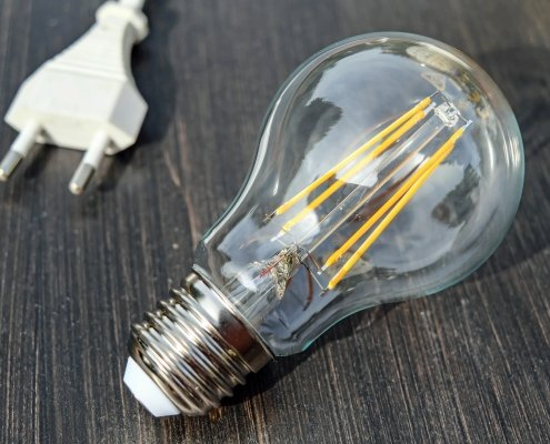 verschillende fittingen led lampen