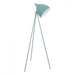 eglo vintage vloerlamp mint