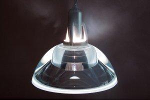 foto van een hanglamp