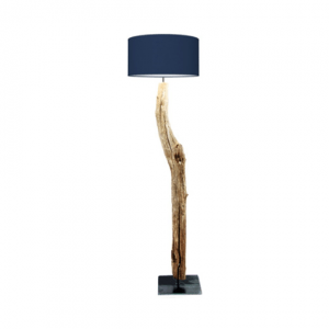 thomas wood boomstronk houten lamp